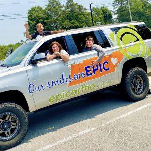 Epic Orthodontics Knoxville Brace Bus